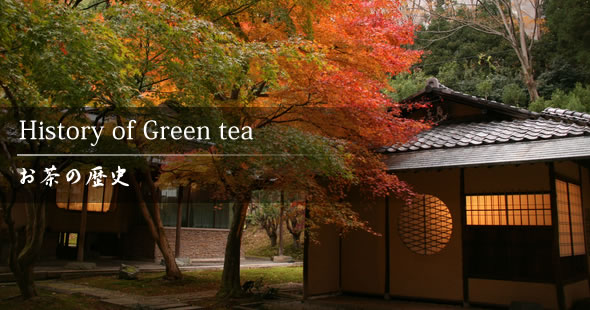 History of Green tea