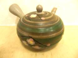 Tea pot (Obi-ami)
